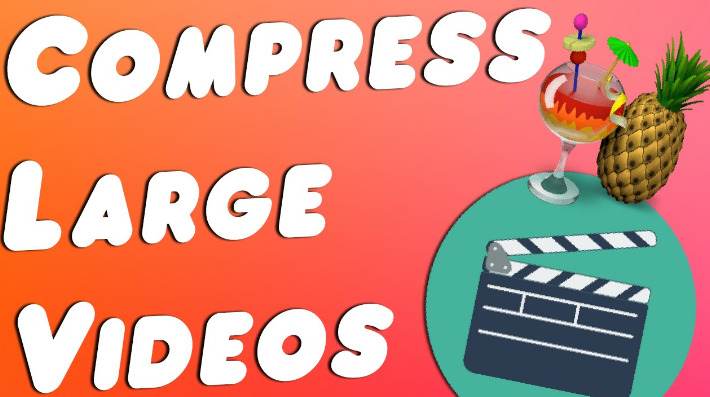 Compress Large Videos
